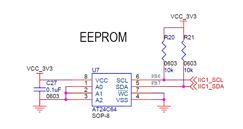 电可擦可编程只读存储器芯片(EEOROM)